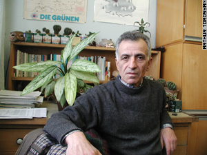Hakob Sanasaryan leads the Union of Greens