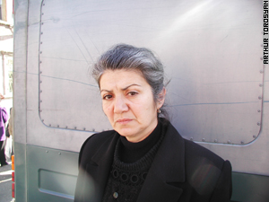 Artyom's mother Karine Aghbalyan