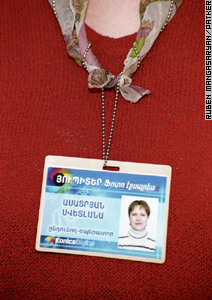 An identification badge can prevent a municipal fine.