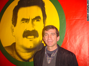 Paintings and posters of Abdullah Ocalan are common among Armenian Kurds