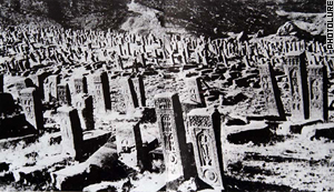 Thousands of khachkars used to stand in Jugha, but no more.